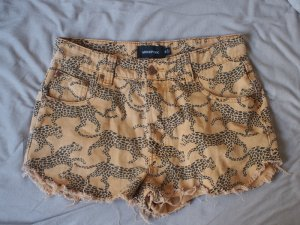 Minkpink Shorts mit Leoparden