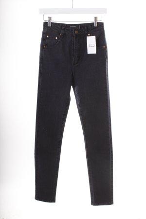 Minkpink Skinny Jeans dunkelblau-schwarz Casual-Look