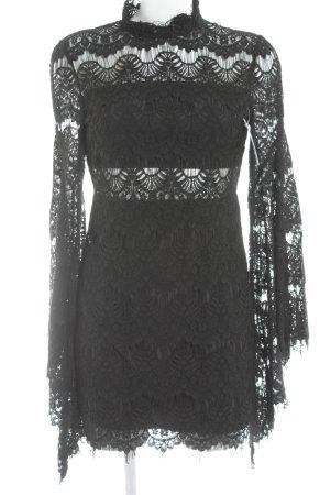 Minkpink Spitzenkleid schwarz Elegant