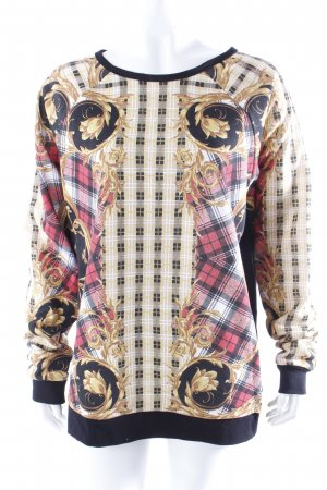 Minkpink Sweatshirt Karomuster Gr. 34 I