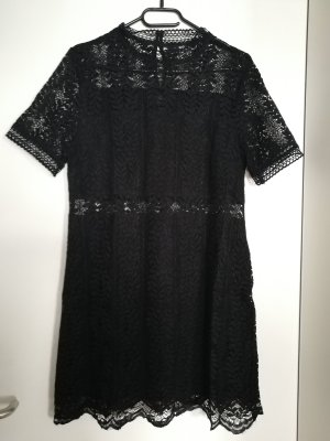 Minkpink Tell Tale Lace Tee Dress L