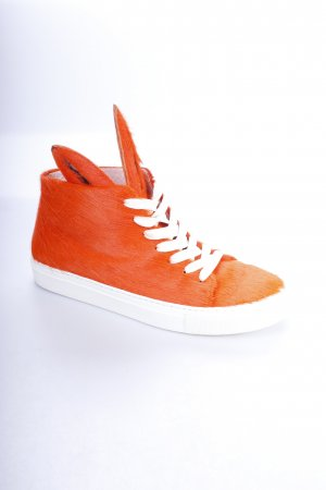 Minna parikka High Top Sneaker orange extravaganter Stil