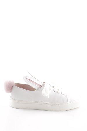 Minna parikka Schnürsneaker weiß-pink Casual-Look