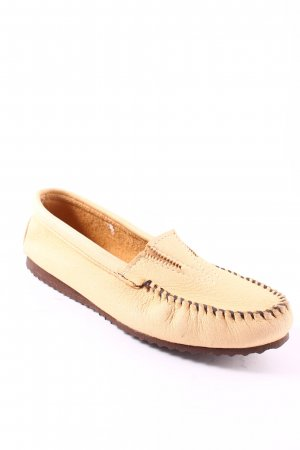 Minnetonka Moccasins sand brown athletic style