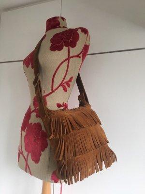 Minnetonka Natural Indianer Festival Pocahontas Bohemian Wildleder Tasche