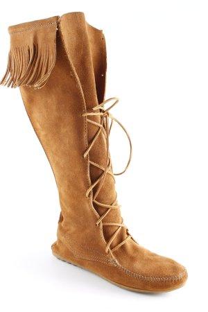 Minnetonka Jackboots brown country style