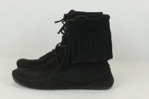 Minnetonka Schuhe Gr. 39 schwarz