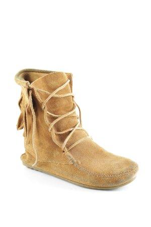 Minnetonka Botines estilo vaquero camel estilo country
