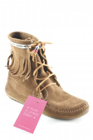 Minnetonka Western Booties multicolored Gypsy style
