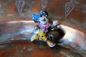 Minnie Maus Brosche / Glocke / Hipster / Vintage / 90s / Disney