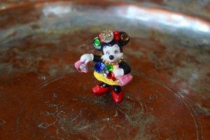 Minnie Maus Brosche / Perle / Hipster / 90s / Vintage / New York / Disney
