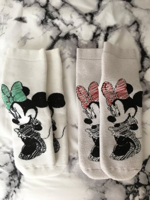 Minnie Maus Socken Bloggerstyle Cute Disney