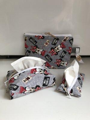 Minnie Maus Taschen Geschenk Set Jersey Weich Baby Neu Disney Mickey Minnie