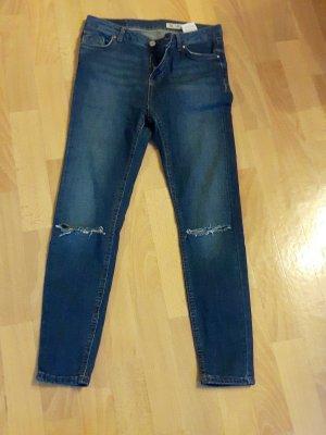 Review Jeans skinny bleu