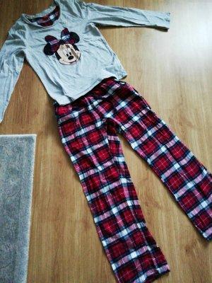 Primark Pijama gris-rojo
