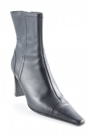 Minozzi Milano Booties schwarz Country-Look