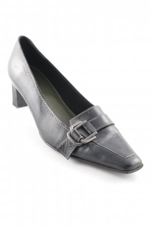 Minozzi Milano Hochfront-Pumps schwarz Business-Look