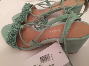 Mint&berry High-Heeled Sandals mint-turquoise