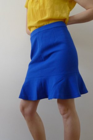 Mint&berry Godet Skirt blue polyester