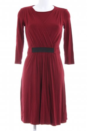 Mint&berry A-Linien Kleid rot-schwarz Business-Look
