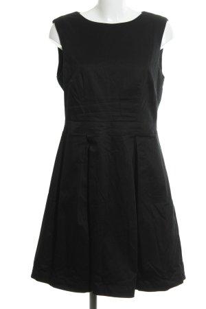 Mint&berry A-Linien Kleid schwarz Business-Look