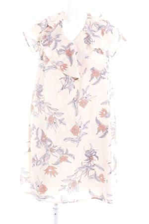 Mint&berry A-Linien Kleid Blumenmuster Romantik-Look