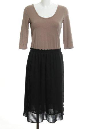 Mint&berry A-Linien Kleid braun-schwarz Casual-Look