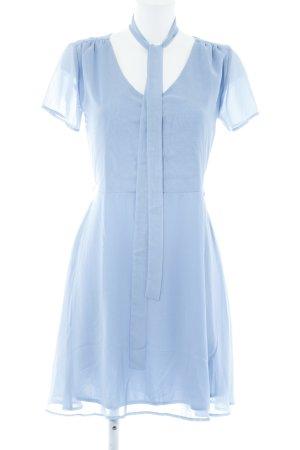 Mint&berry A-Linien Kleid hellblau Business-Look