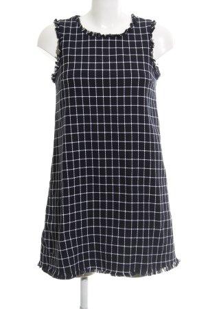 Mint&berry A-Linien Kleid Karomuster Street-Fashion-Look
