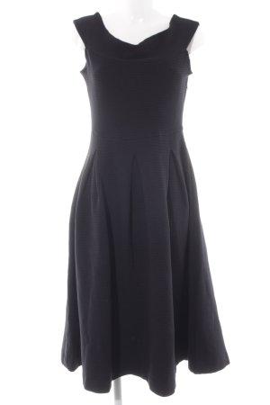 Mint&berry A-Linien Kleid schwarz Elegant