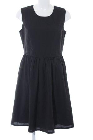 Mint&berry A-Linien Kleid schwarz klassischer Stil