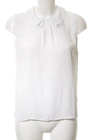 Mint&berry ärmellose Bluse weiß Elegant