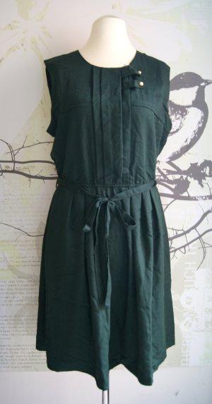 Mint & Berry ärmelloses Kleid, dunkel-grün (winter green), Gr. XL (Gr. 42) NEU