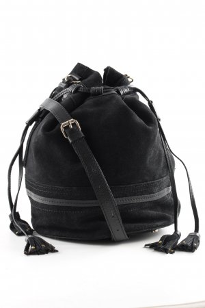 Mint&berry Bolso tipo marsupio negro-gris oscuro look casual