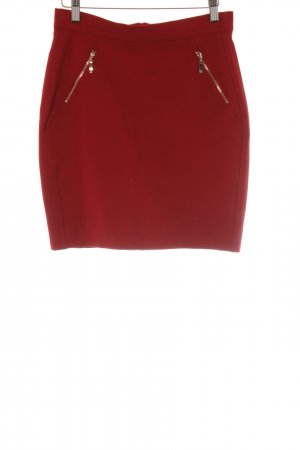 Mint&berry Pencil Skirt red party style