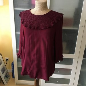 Mint & Berry Bluse Gr. 42 Bordeaux top