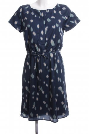 Mint&berry Abito blusa blu motivo astratto stile professionale