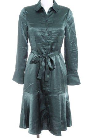 Mint&berry Blusenkleid dunkelgrün Elegant