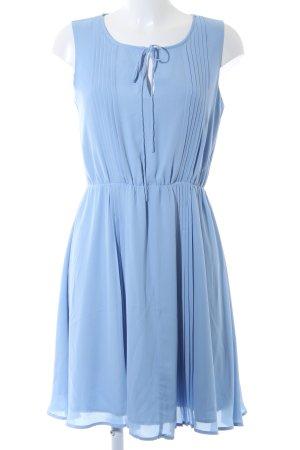 Mint&berry Blusenkleid himmelblau Casual-Look