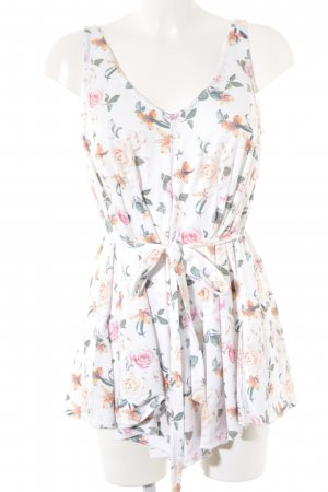 Mint&berry Blusentop Blumenmuster Romantik-Look