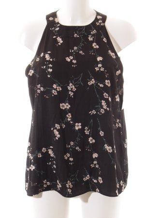 Mint&berry Blusentop florales Muster Romantik-Look