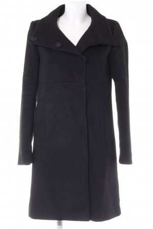 Mint&berry Heavy Pea Coat black casual look