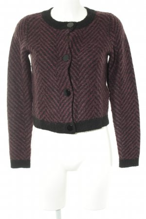 Mint&berry Cardigan Fischgrätmuster Casual-Look