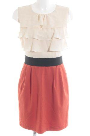 Mint&berry Vestido de chifón multicolor elegante