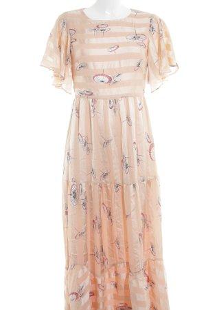 Mint&berry Chiffonkleid Motivdruck Romantik-Look