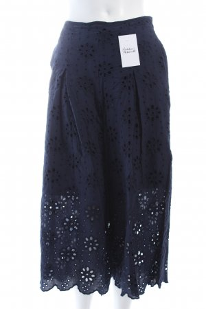 Mint&berry Culottes dunkelblau klassischer Stil