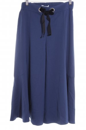 Mint&berry Culottes steel blue-black casual look