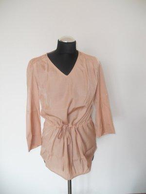 Mint & Berry Damen Bluse Tunika nude zart rosé Gr. M