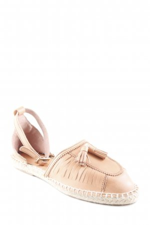 Mint&berry Espadrille Sandals beige-oatmeal simple style