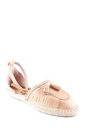 Mint&berry Espadrilles-Sandalen beige-hellbeige schlichter Stil